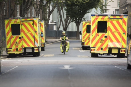 Thieves on a moped stole Cycle Paramedic Katherine McKenna's phone while she was on duty.