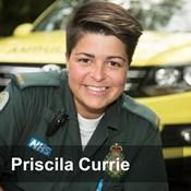Priscila Currie, Paramedic