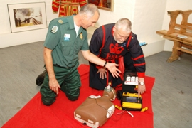 beefeater defib