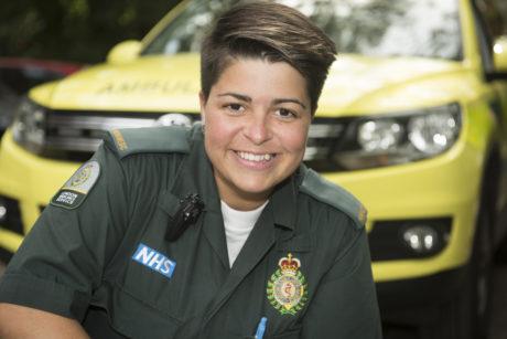 Priscilla Currie, Paramedic