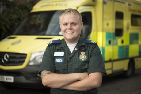 Sam Walsh Emergency Ambulance Crew