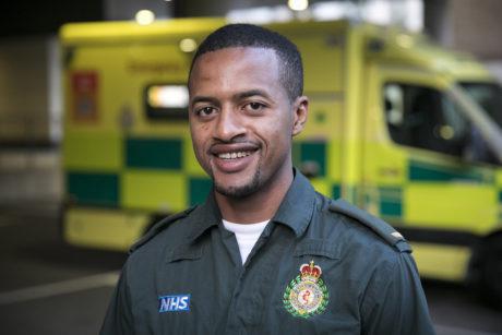 Ibrahim Bah, Paramedic