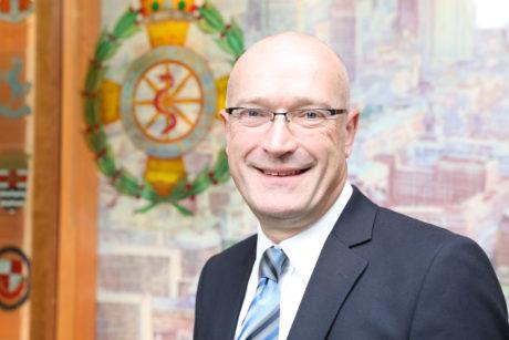 Chief Executive Garrett Emmerson