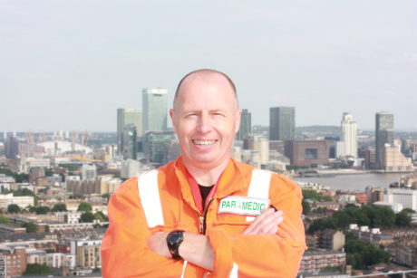 Bill Leaning, Air Ambulance Paramedic of the Year