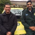 Bromley patient reunited with paramedic who saved his life