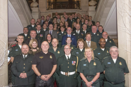 Long serving and retired staff are celebrated at our event