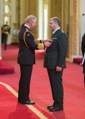 David Whitmore receives prestigious Queen's Ambulance Service Award