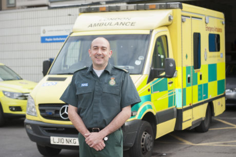 Medic Dean Buttery launches a new scheme to help our blind and partially sighted patients