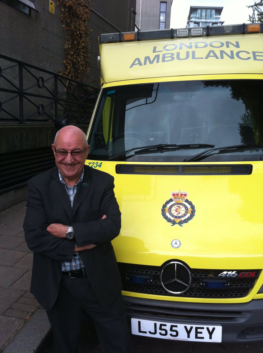 London Ambulance Service pays tribute to Eric Roberts Unison Branch Secretary
