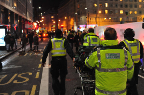 London Ambulance Service is expecting its busiest New Year's Eve ever
