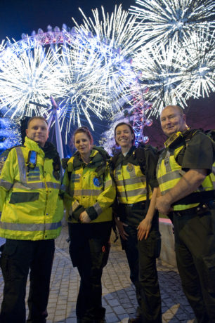 New Year's is a busy night for London Ambulance Service