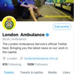 Reaching 100,000 followers on Twitter