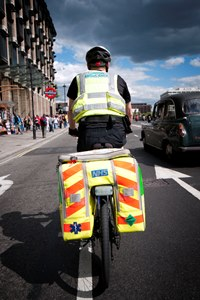 Thief steals London Ambulance Service bike
