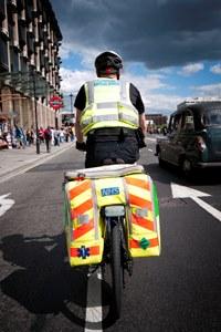 Thief steals London Ambulance Service bike