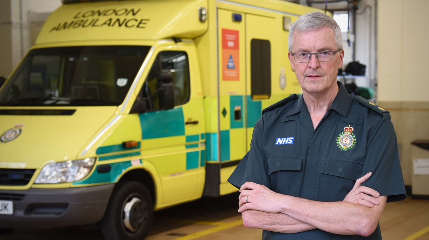 Paramedic Allan was one of the emergency responders to the Kings Cross fire in 1987