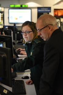 The Archbishop of Canterbury Justin Welby in our Waterloo control room