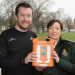Neil Cole is raising money for park defibrillators after surviving a cardiac arrest in 2015