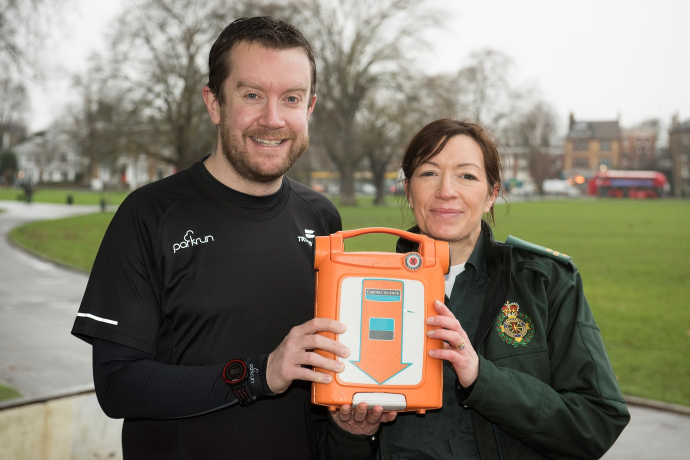 Neil Cole is raising money for park defibrillators after surviving a cardiac arrest in 2015
