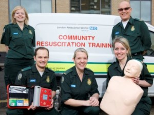 Resuscitation training course