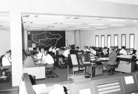 Waterloo headquarters in nineteen seventy six