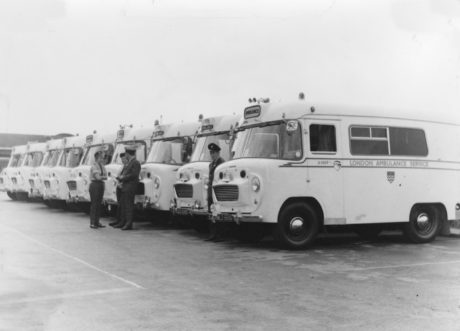 Wadhams ambulances from nineteen sixty nine