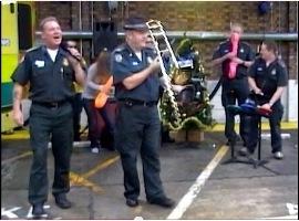 Singing paramedic Graham