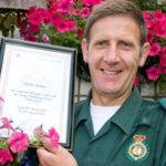 Featured image for Barnehurst paramedic recognised for 30 years' dedication