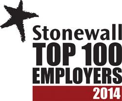 stonewall top employer 2014