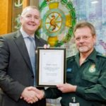 Featured image for Romford Paramedic recognised for 40 years' service