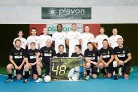 Football world record breaking team
