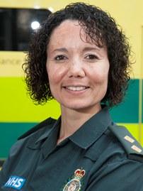 London Ambulance Service Tutor Rachel Phillips