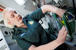 Verity Reinke from Adelaide works for the London Ambulance Service