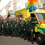 Featured image for Ambulance workers join Pride parade