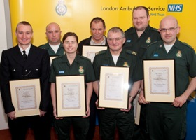 Chief Ambulance Officer Commendations