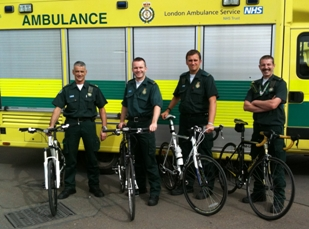 HART paramedics will cycle 1,200 miles for Help for Heroes