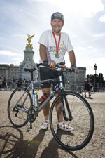 HR Manager Greg Masters completes ride