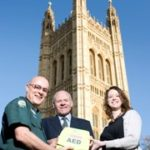 Featured image for Parliament receives lifesaving equipment