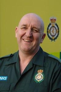 Paramedic Nick Hill