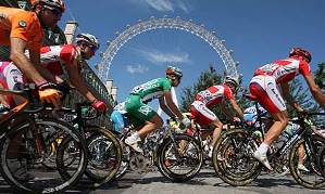 Tour de France in London in 2007