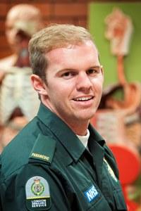 Mitchell Hand Australian Paramedic