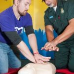 Featured image for Stockwell man who survived a cardiac arrest learns to save a life