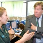 Featured image for New health minister visits London Ambulance Service