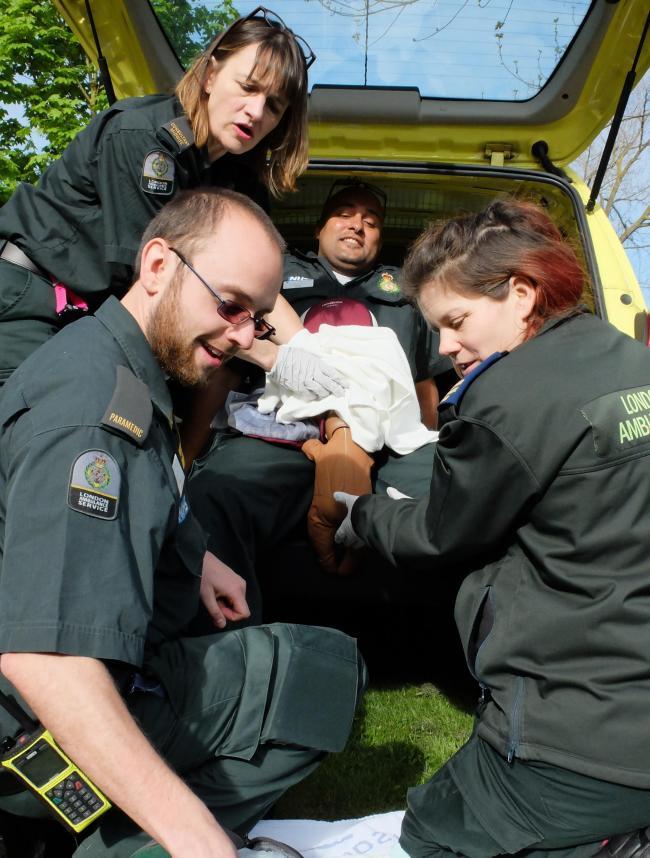 Man gives birth at Northwick Park Hospital