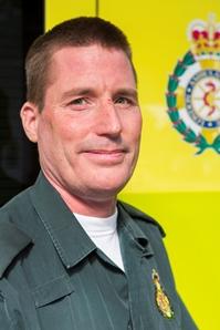 London Ambulance Service Paramedic Jason Morris who has won an award