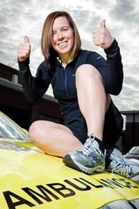 LAS marathon runner Katherine McKenna 2014