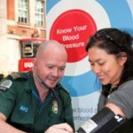 Featured image for Ambulance staff give free blood pressure checks to Londoners