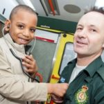Featured image for Ambulance dream comes true for Hackney schoolboy