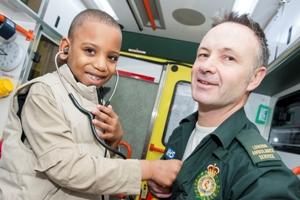 Kwame Myers ambulance visit