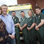 Featured image for Bromley nurse thanks lifesaving paramedics