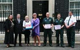 SADS UK petition to No10 Downing Street
